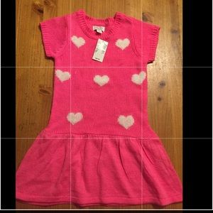 The children's place sweater dress 4t xsmall pink